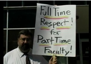 Full time respect for part time faculty