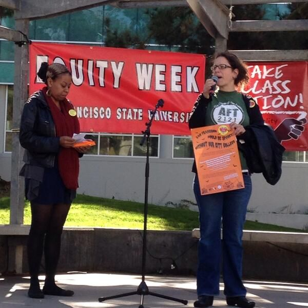 Thanks CCSF @AFT2121 for speaking out.