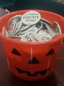 The best Halloween treat of all: Campus Equity!